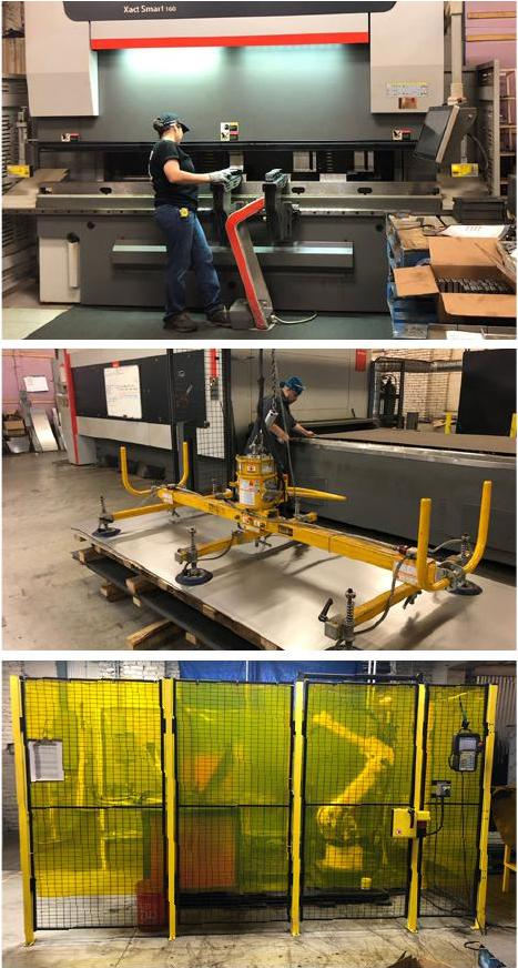 For short runs, one-off projects and prototyping, Morgan Li invested in a Bystronic BySmart fiber laser 3015 and Xact Smart press brake, among other critical fabricating equipment.