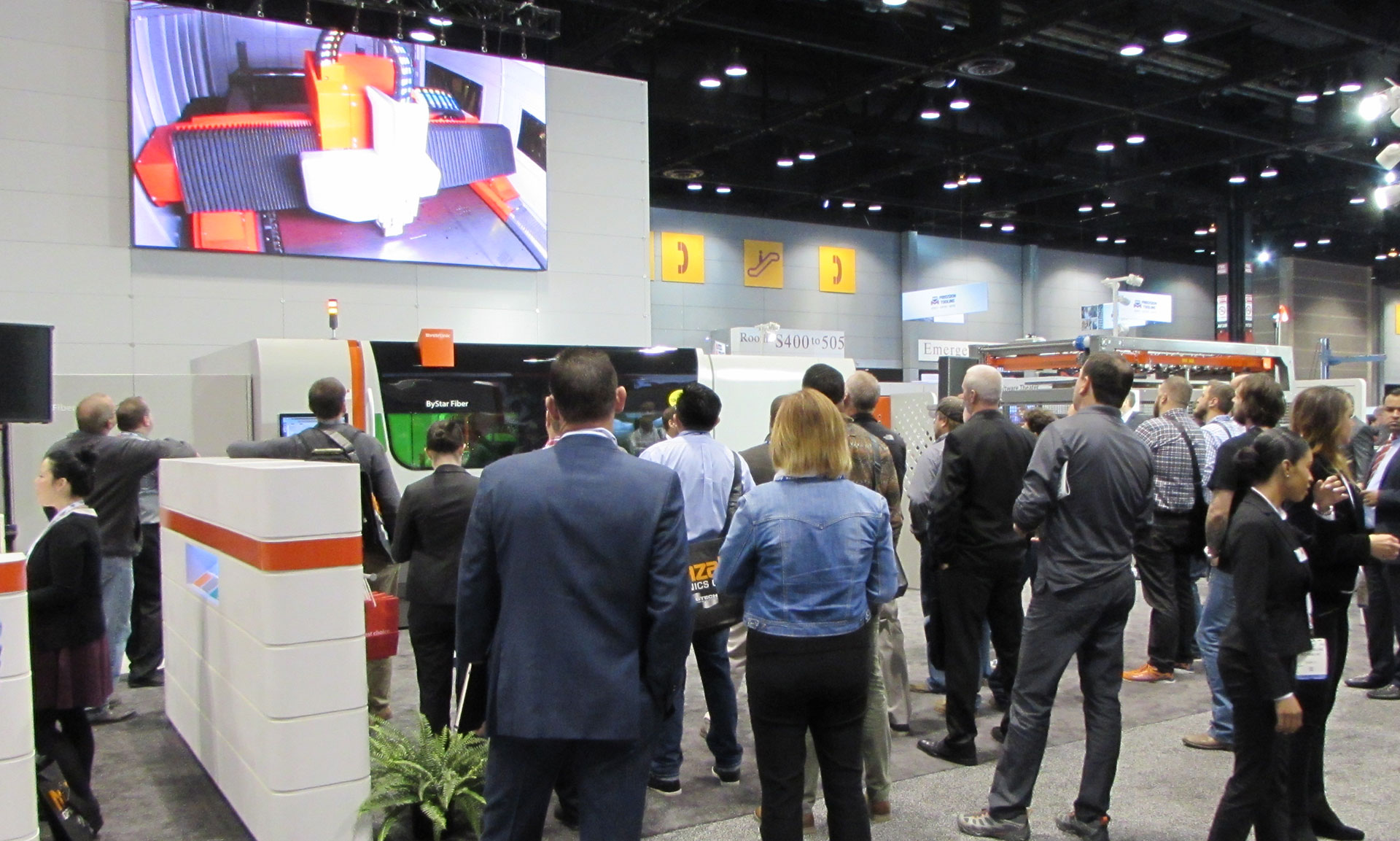 FABTECH 2018: Innovation Drives Success – Bystronic Inc