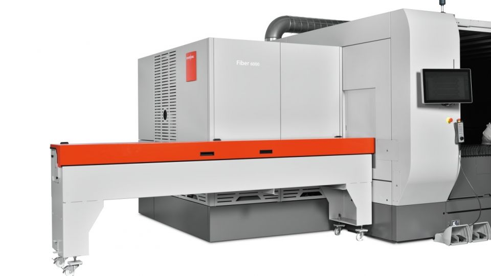 ByStar Fiber 10kW - Now with Optional Rotary Axis