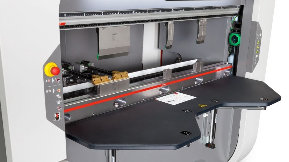 New: Xpert 80 Compact, High Speed, Mobile Press Brake