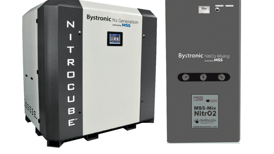 Bystronic Inc. and MSS Nitrogen Inc. enter into Strategic Partnership agreement to supply Nitrogen Generation and Gas Mixing products