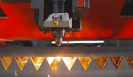 """BeamShaper"" enables faster cutting with exceptional edge quality in thick steel plate."